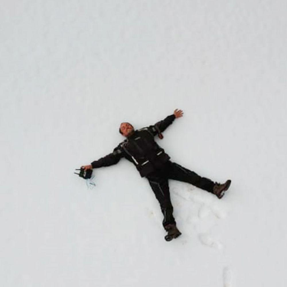 Sentindo na pele os extremos da natureza: da grossa neve americana