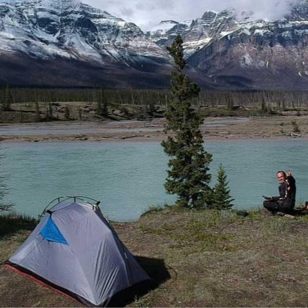 Aproveitando a beleza do Jasper Nacional Park, no Canadá
