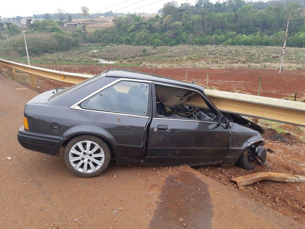 Acidente foi em Toledo, no oeste do Paraná, na tarde desta sexta-feira (20) — Foto: Divulgação/PRF
