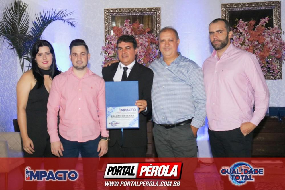 Entrega do Prêmio Qualidade Total - Impacto Pesquisas 2019