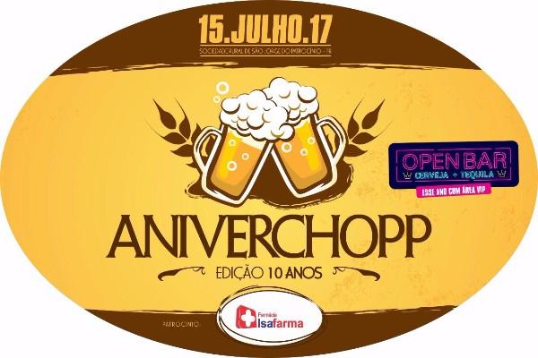 Aniverchopp - Edição 10 Anos / Parte 1