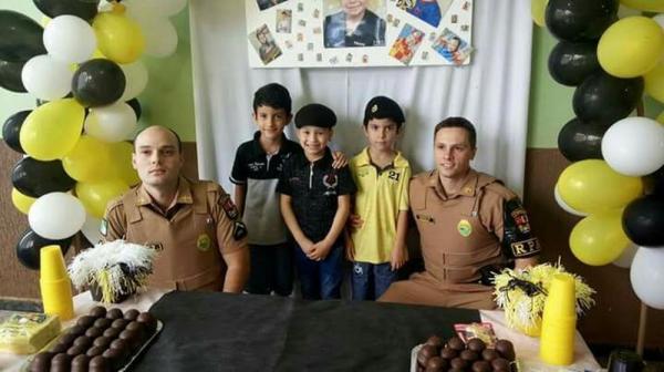 Agora tenho certeza que quero ser policial', diz menino que teve sonho realizado por PMs