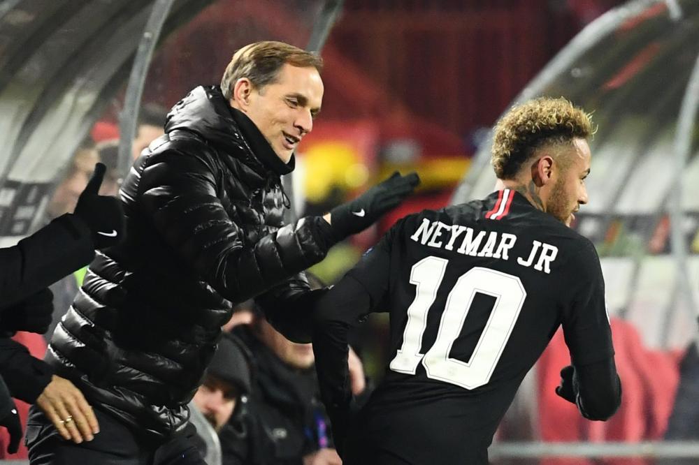 Tuchel diz ter conversado com Neymar sobre a próxima temporada — Foto: AFP