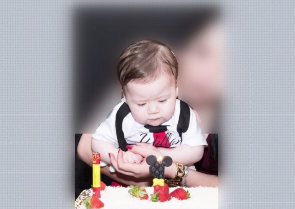 Willan Rodrigues, de 1 ano e 7 meses, foi encontrado morto na casa da avó, em Porecatu — Foto: Reprodução/RPC