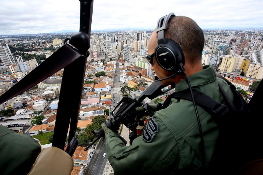 Ações das polícias aumentam em 334% as prisões no Paraná
