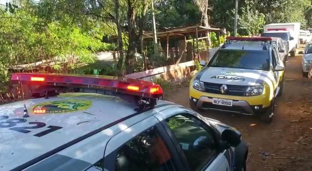 Bebê foi encontrado morto em casa no bairro Jardim Modelo, em Campo Mourão — Foto: Dione Correia/Arquivo pessoal