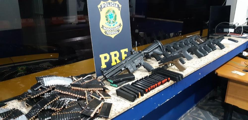14,9 toneladas de drogas é apreendida pela PRF no Paraná durante o 1º semestre