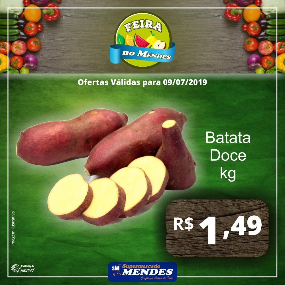 Hoje é dia de feira no Supermercado Mendes