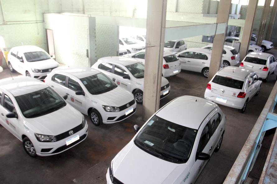 Governo vai entregar 54 carros para atender pequenos agricultores. Foto: SEAB