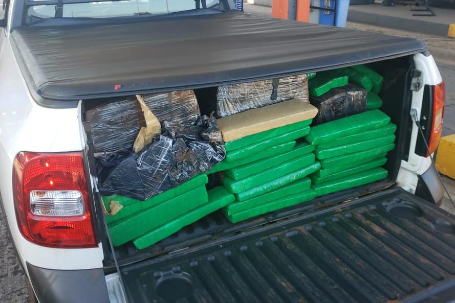Polícia apreende 1,4 tonelada de droga em rodovias do Estado. Foto: PCPR