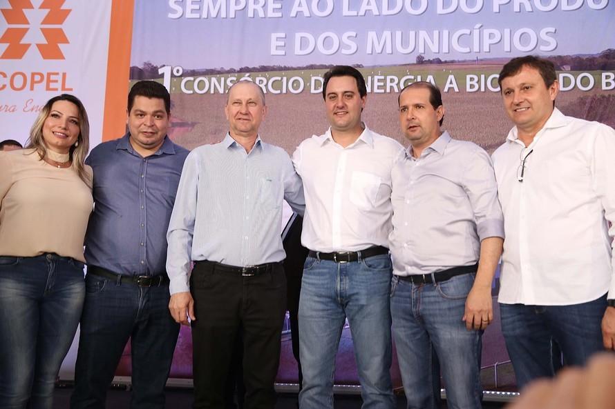 Usina de biogás já ilumina prédios públicos de Entre Rios do Oeste
