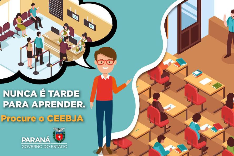 Professores incentivam jovens e adultos a voltar à sala de aula
