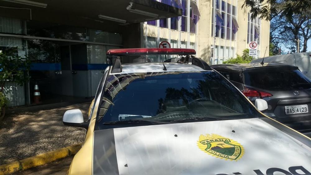 Caso aconteceu na manhã desta quarta-feira (31) — Foto: Viviane Mallmann/RPC Ponta Grossa