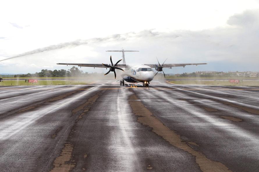 Aeroporto de Pato Branco. Foto: José Fernando Ogura/ANPr