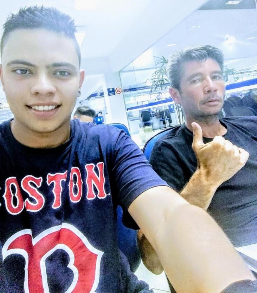 Lucas Herreiro teve mais de 80% do corpo queimado após explosão em Maringá — Foto: Judisson Herreiro/Arquivo pessoal