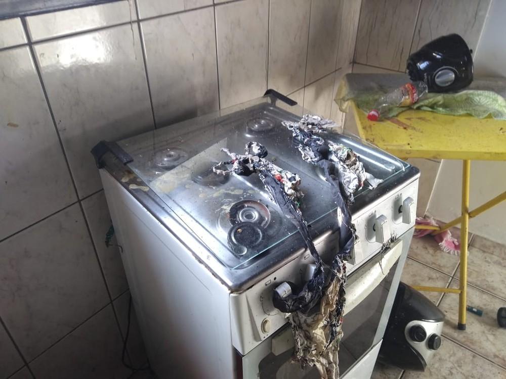 Botijão de gás explode e deixa jovem com mais de 80% do corpo queimado em Maringá