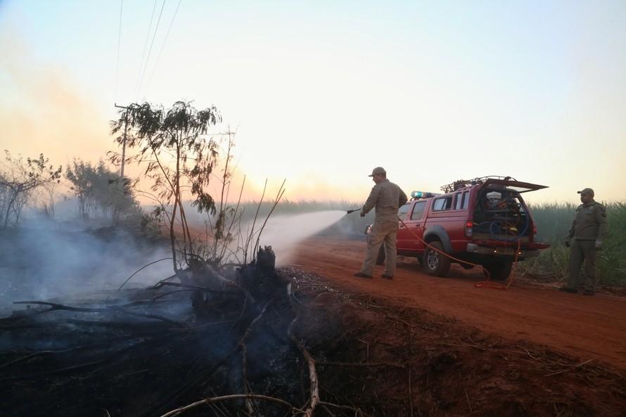Bombeiros reforçam alertas para evitar queimadas