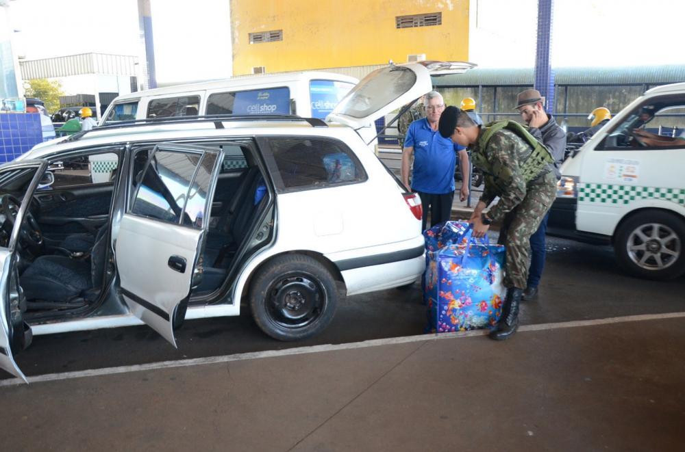 Na fronteira o Exército reforça o combate contra o tráfico e o contrabando