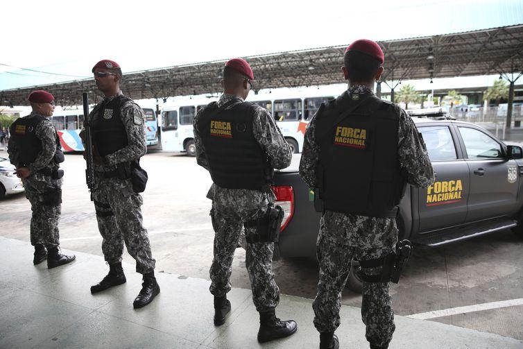 Força Nacional de Segurança Pública - José Cruz/Agência Brasil