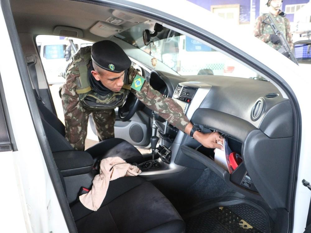 Ações de repressão e combate ao tráfico são intensificadas na faixa de fronteira