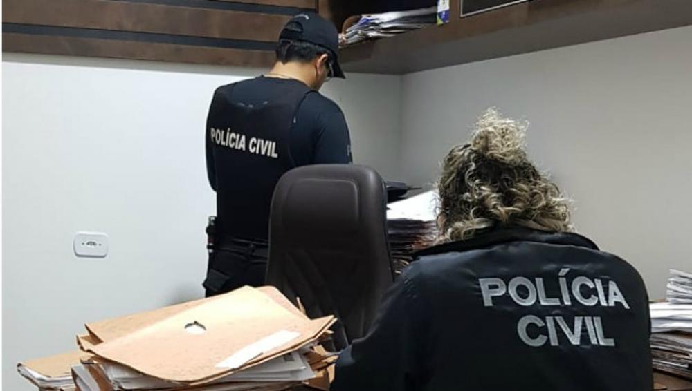 Polícia Civil faz operação contra advogados suspeitos de ajuizar processos fraudulentos contra empresas — Foto: Polícia Civil/Divulgação
