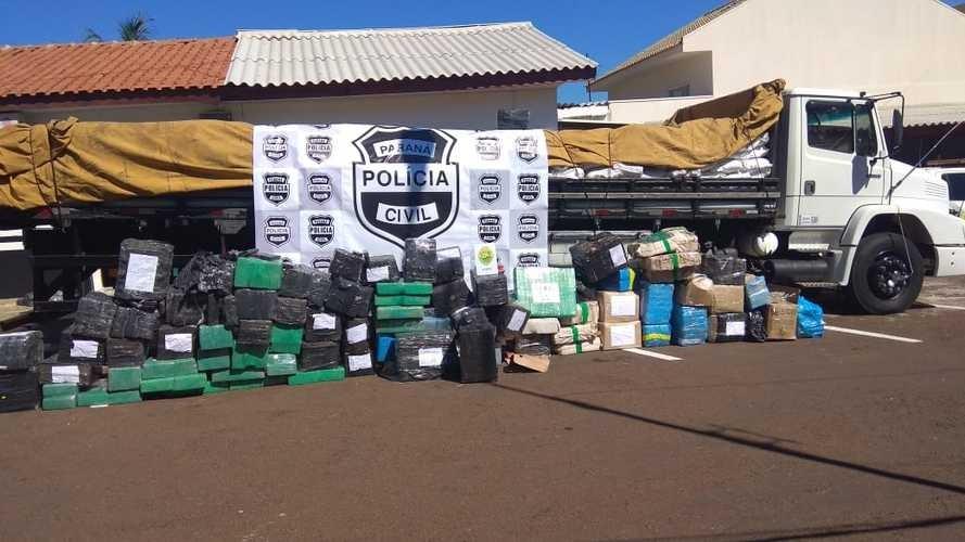 Inteligência e integração das polícias tiram 80 toneladas de drogas das ruas