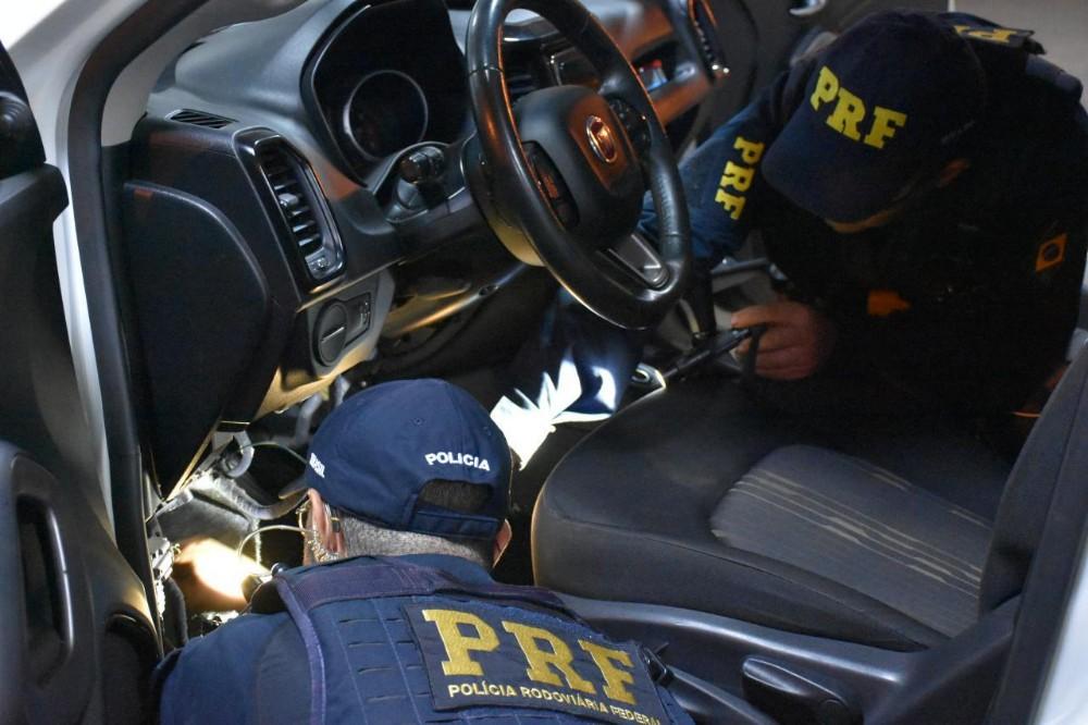 Comboio de contrabandistas de cigarro é interceptado pela polícia em Terra Roxa