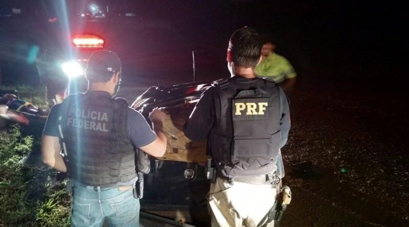 Após perseguição traficante é preso pela PRF com 277 quilos de maconha em Cascavel