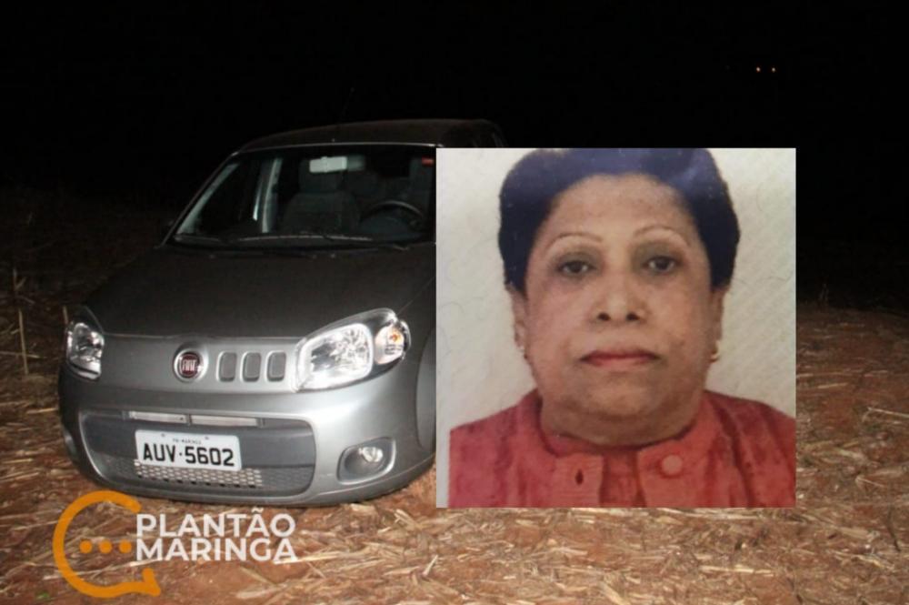 Corpo de idosa que estava desaparecida é encontrada morta na zona rural de Maringá