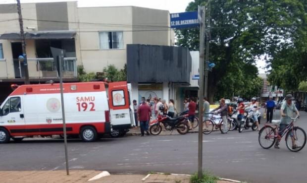 Idosa fica gravemente ferida após cair de sacada de casa em Altônia