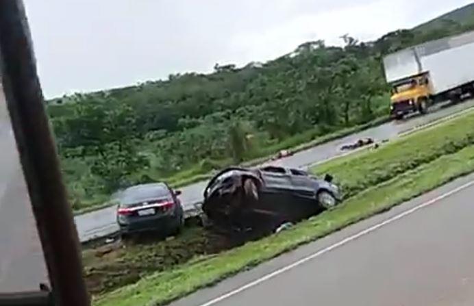 A tragédia ocorreu em Santo Antônia do Descoberto, em Goiás. (Foto: Reprodução)