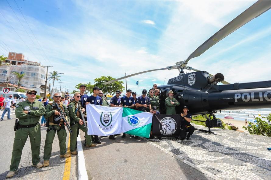 Policiais concluem especialização inédita de operações aéreas