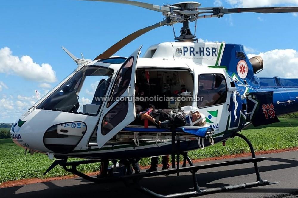 Acidente deixa 6 pessoas feridas na PR-323