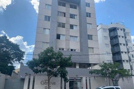 TRAGÉDIA ACONTECEU EM GARAGEM DO PRÉDIO. (FOTO: RECORD TV MINAS)