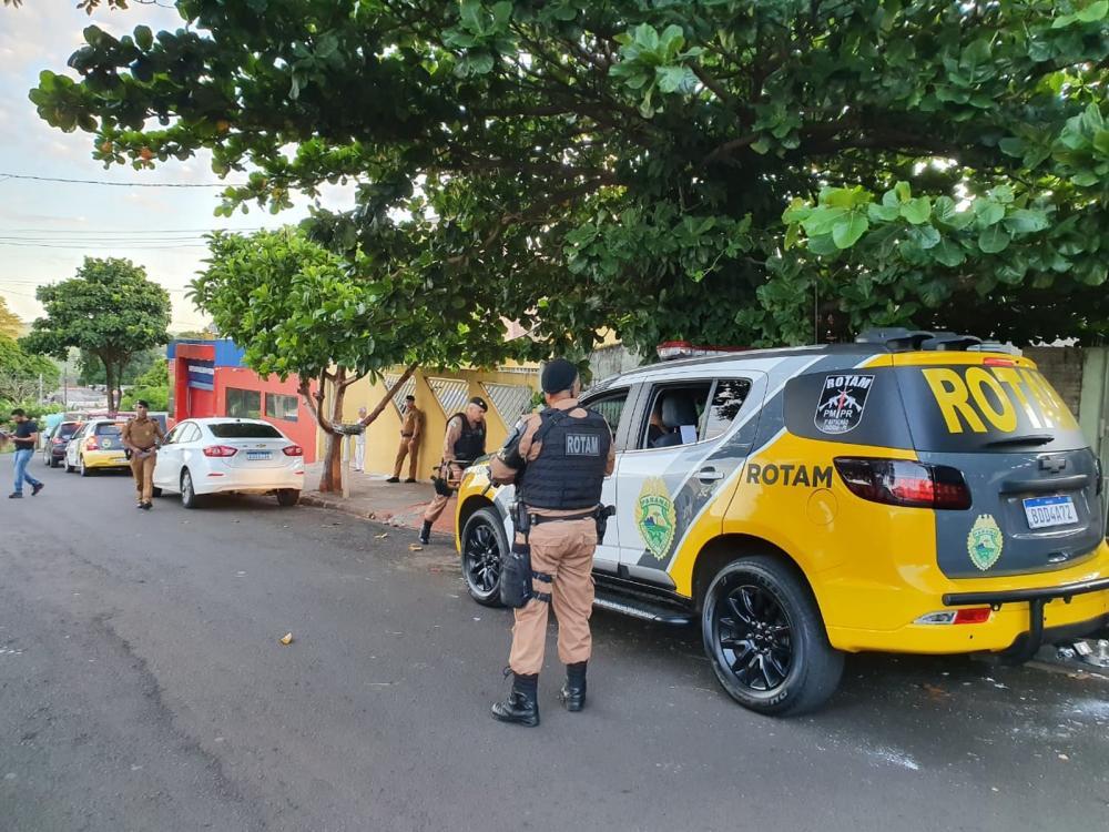 PM prende 14 pessoas em operação contra organização criminosa que atua no PR e mais três estados