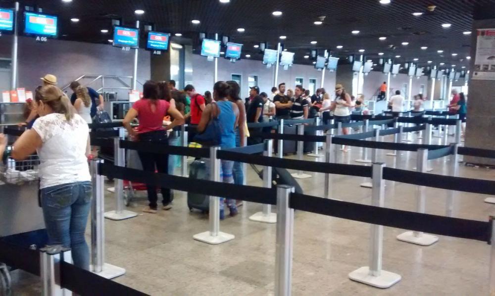 Aeroporto de Fortaleza - Edwirges Nogueira / Agência Brasil