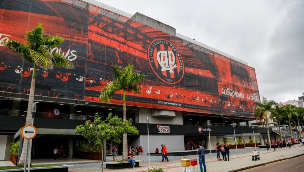 Poucos funcionários do hospital usariam os alojamentos do estádio e acerto não foi adiante, mas Furacão deixou Arena à disposição. Foto: André Rodrigues/Arquivo