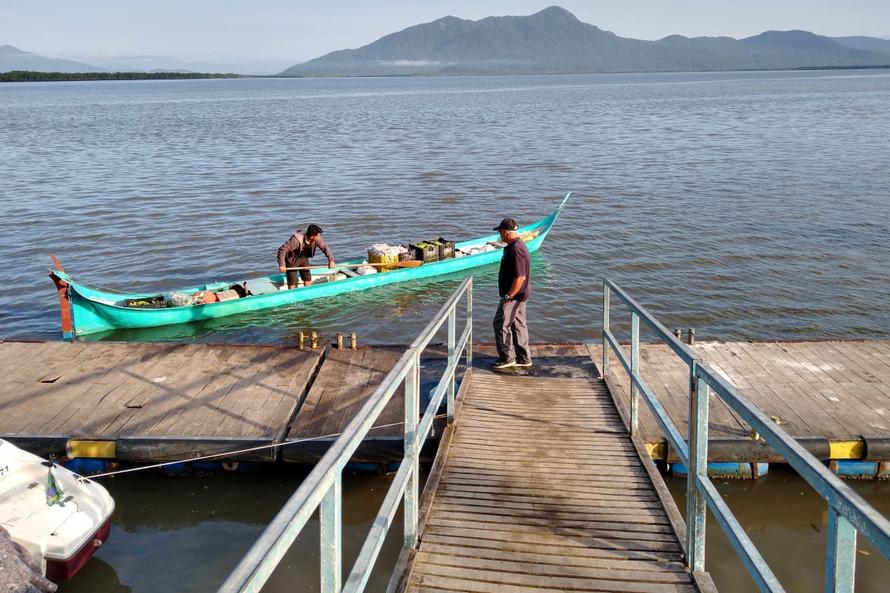 Agricultores familiares levam alimentos às ilhas do Paraná