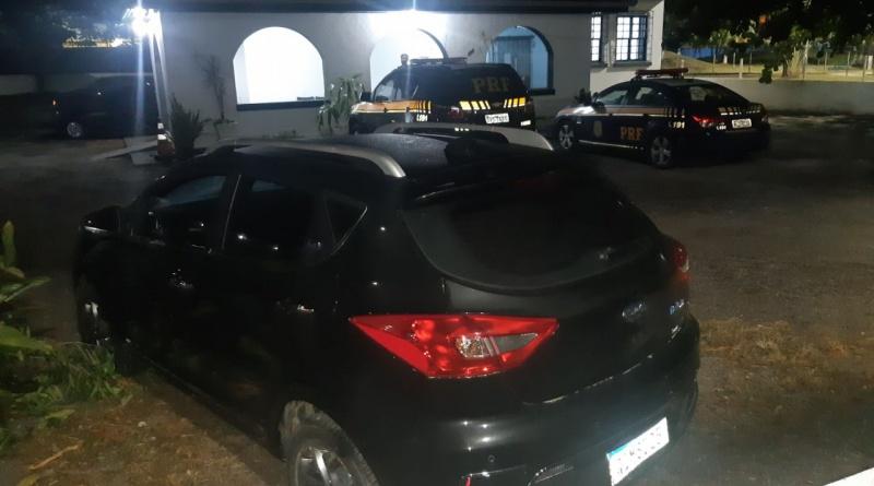 Carro elétrico roubado é recuperado e quadrilha presa pela PRF