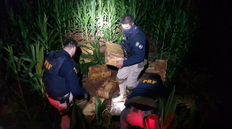 PRF apreende quase três toneladas de maconha em Pato Bragado