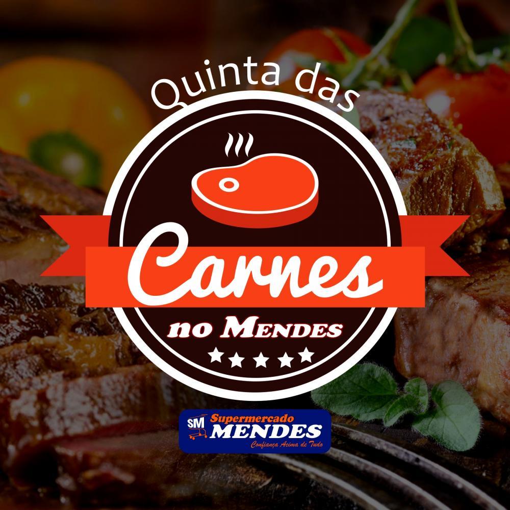 Hoje é dia de ofertas de carnes no Supermercado Mendes