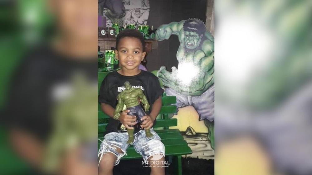 Criança de 4 anos morto na própria festa de aniversário será enterrado nesta terça-feira