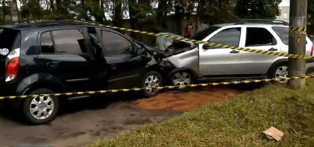Grave acidente na Cidade Industrial de Curitiba deixa um morto e um ferido