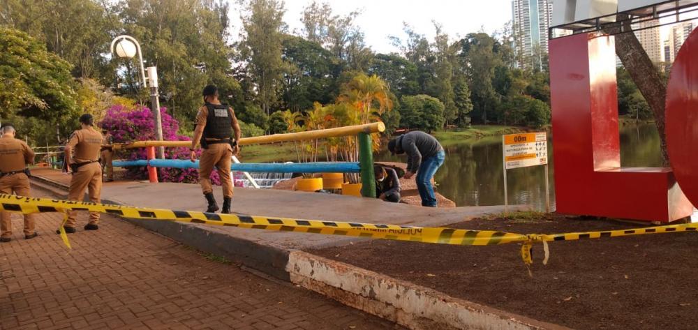 Homem que estava desaparecido é encontrado morto no Lago Igapó, em Londrina