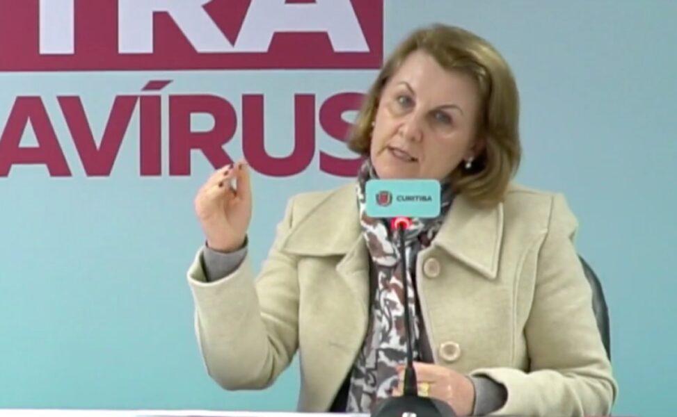 """Secretária da Saúde alerta sobre Curitiba, """"estamos caminhando para o vermelho"""""""