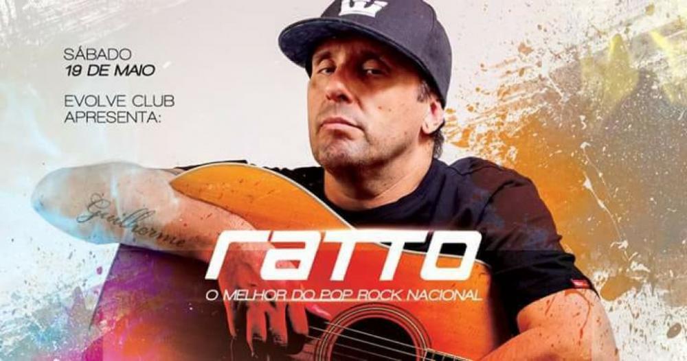 Ratto - O melhor do pop rock nacional - 19/05