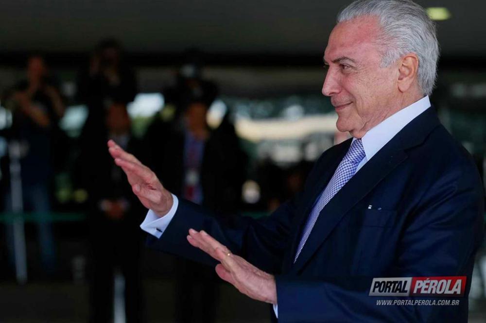 Em dois anos de governo, o Presidente Temer não cumpriu maioria das promessas