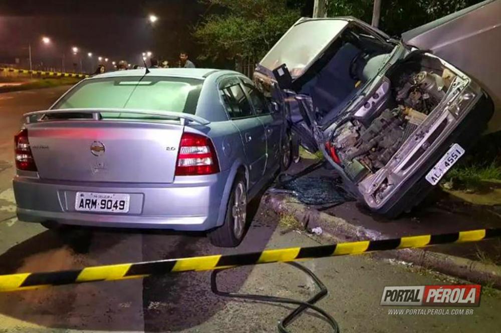 Motorista provoca grave acidente na Cidade Industrial de Curitiba