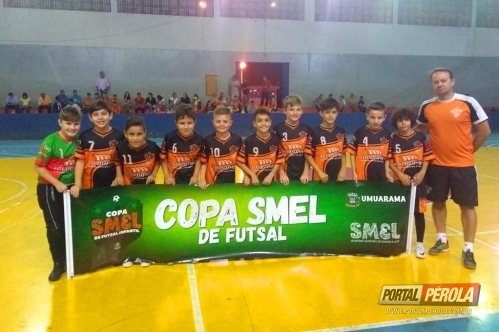 Rodadas da Copa Smel de Futsal Infantil tem lotado de pais o Ginásio Mario Oncken