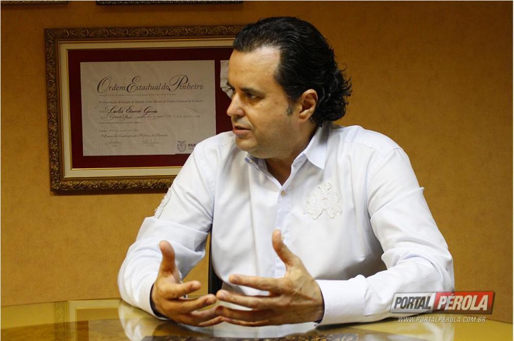 Reitor da Unipar agradece título de Cidadão Honorário do Paraná